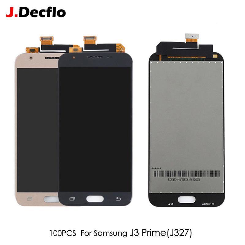 Replacement Samsung J3 Digitizer-Assembly Lcd-Display Touch-Screen Prime 100PCS For Brightness