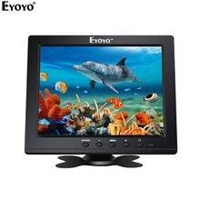 """EYOYO EM08B """" дюймов TFT ЖК дисплей цвет мониторы с VGA HDMI входной интерфейс видео ips экран видео для ПК видеонаблюдения DVR камера безопасности"""