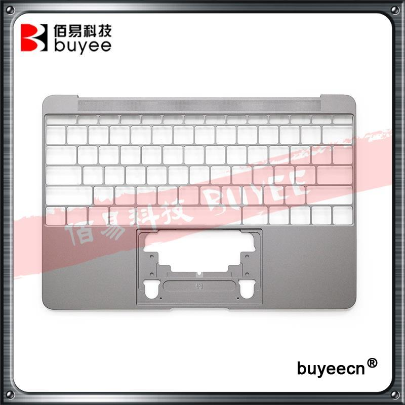 NEW Genuine 12 Inch A1534 Palm Rest US Layout 2016 Year For Macbook Air Retina 12 A1534 Palmrest Top Case Topcase Replacement genuine new 593 1604 b 923 0441 for macbook air 13 inch a1466 trackpad touchpad ribbon flex cable 2013 2014 2015 year