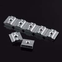 50pcs Hammer Head 45 Series T Sliding Nut Block M4 M5 M6 M8 M10 For European