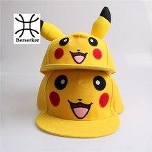Lovely Pokemon GO Pikachu Flat Snapback Caps