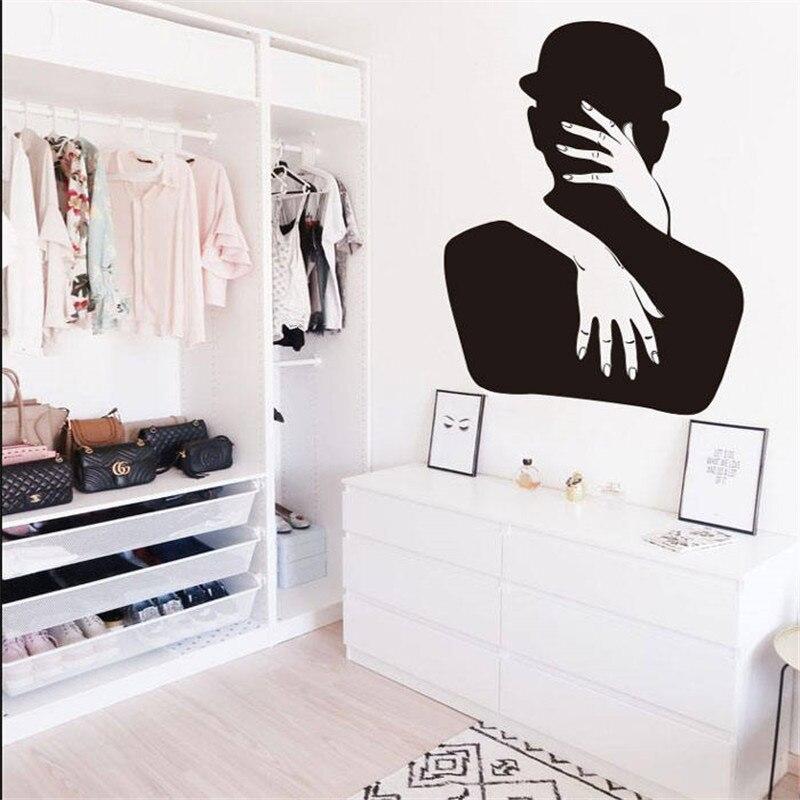 Romantic Bedroom Wall Decor: Romantic Bedroom Decor Couples Decals Wedding Wall Decal