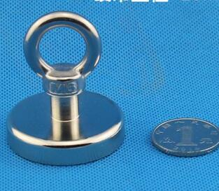 Hot sale! Super N52 42mm Neodymium Iron Boron Magnet With Circular Rings For Salvage Wholesale Price Lowest Price hot sale fashion hot sale coconut palm iron wall hanging basket