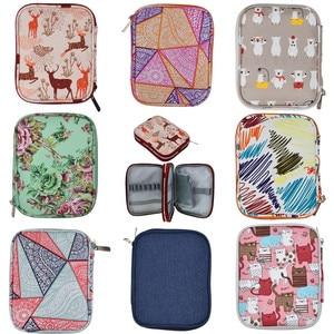 9 Styles Empty Crochet Hooks Pouch Storage Bag Knitting Kit Case Organizer Bag For Crochet Needles Scissors Ruler Sewing Kit Bag