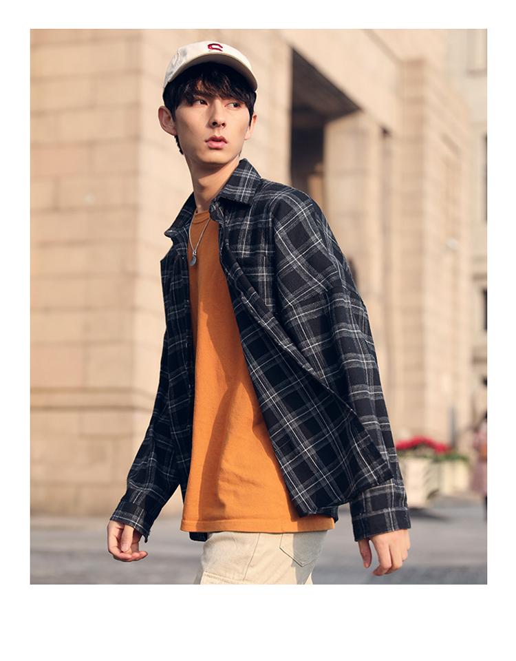 Casual Plaid Summer Shirt Mens Clothing 2019 Floral Printed Streetwear Long Sleeve Men Dress Slim Fit Formal Shirts Cufflinks 40