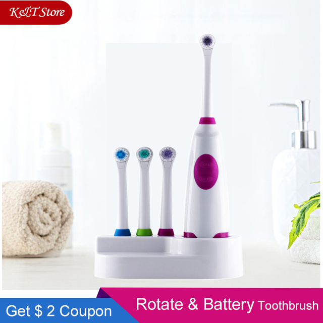 Rotation Battery Electric Toothbrush