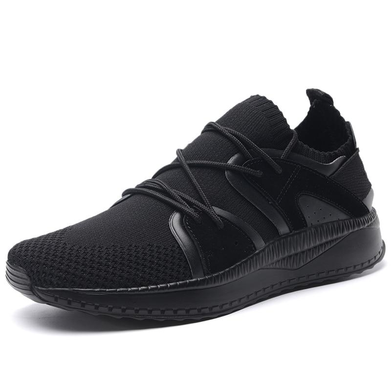 Мужская спортивная обувь для бега мужские кроссовки дышащие сетчатые уличные спортивные легкая обувь мужская обувь - 4