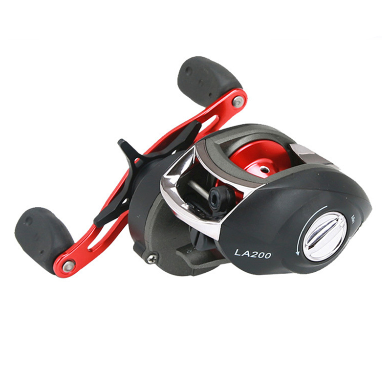 2018 New 12BB Ball Bearing Baitcasting Fishing Reel 8.1:1 Left Right Hand Bait Casting R ...