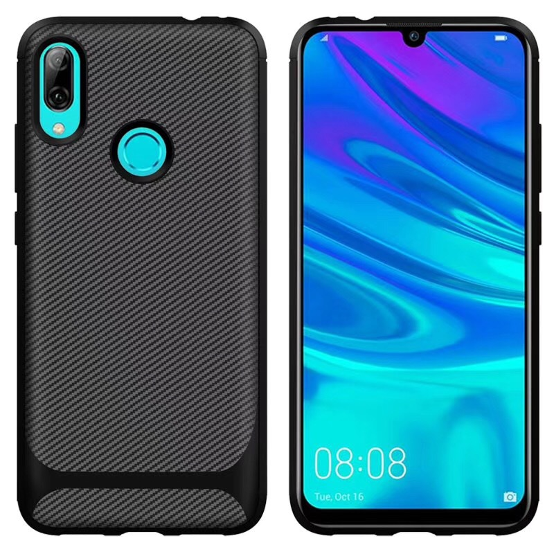 50pcs lot For Samsung Galaxy M10 M20 M30 Shockproof Case Carbon Fiber TPU Case For Galaxy