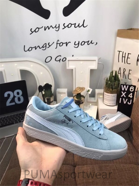 0ebaf6f3a669 2018 New Arrival PUMA Clyde Venice Women's and Men's Sneakers Breathable  Badminton Shoes Size35.5-44