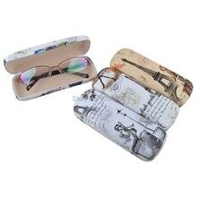 1 шт. оптический чехол, переносные цветочные солнцезащитные очки, Жесткий Чехол для очков, защитная коробка, сумка