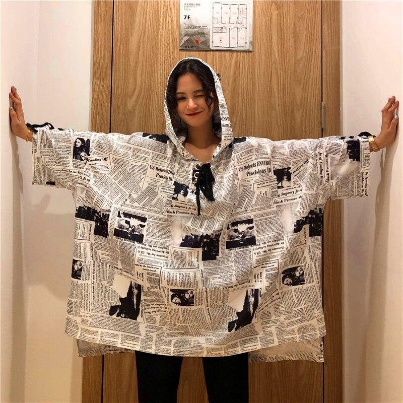 Estate Whitney Cappuccio Harajuku Felpe Wang Della Donne Molla Felpa Modo As Streetwear Picture 2019 Giornale Di YYaqTBw