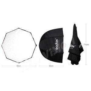 Image 3 - Godox 95cm 37.5in Portable Umbrella Octagon Softbox Flash Speedlight Speedlite Reflector Softbox with Carrying Bag
