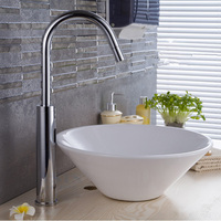 MTTUZK Brass Chrome Plated Bathroom Sensor Faucet 42CM Height DC6V AC220V Automatic Water Saving Basin Sensor