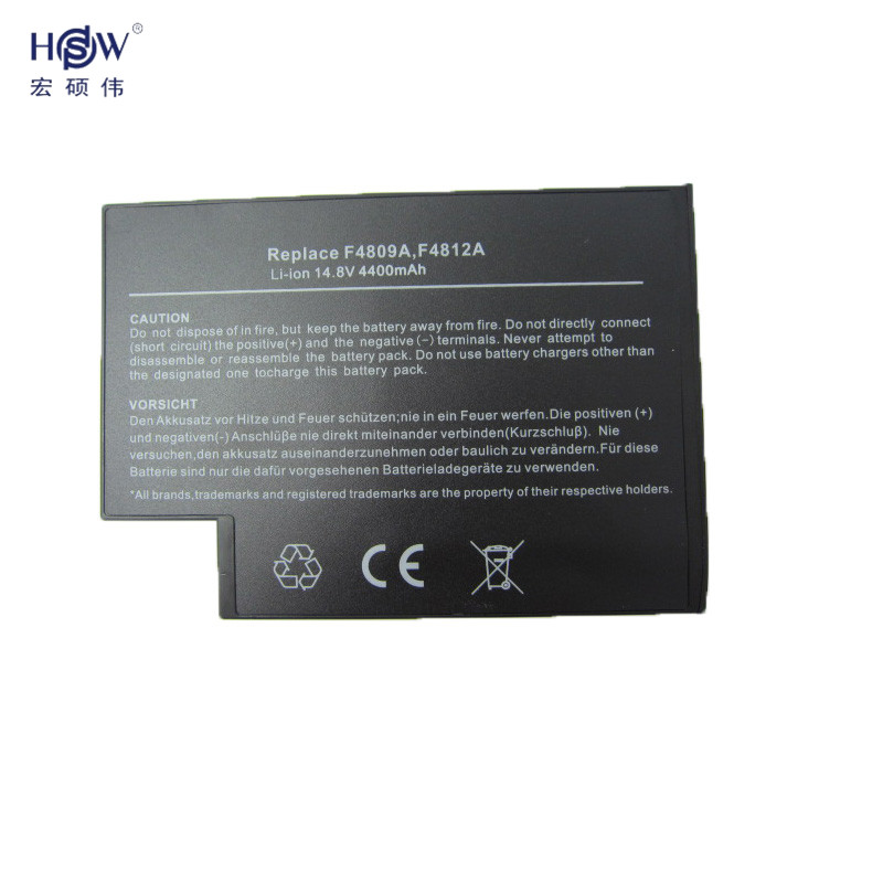laptop battery for hp F4809A,F4098A,F4812A,319411-001,361742-001 bateria akku