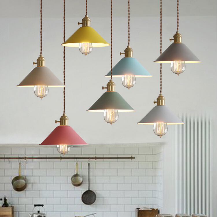 Multicolour Nordic Pendant Lights Modern Dining-room Restaurant Cafe Lamp with Switch Pendant Lamps Twisted Wire Home Decration rectangular dining room pendant lights european style led crystal pendant lights modern restaurant lamp bar cafe creative lamps
