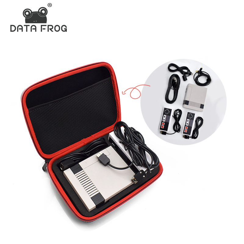 Data Frog Portable Carrying Case Travel Storage Bag For Nintendo Classic Mini NES Edition Console+Controller Protective Cases