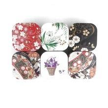 Xin Jia Yi упаковка Металлическая жестяная коробка Маленькая рождественская подарочная упаковка мини квадратная жестяная коробка Маленькие Коллекционные коробки