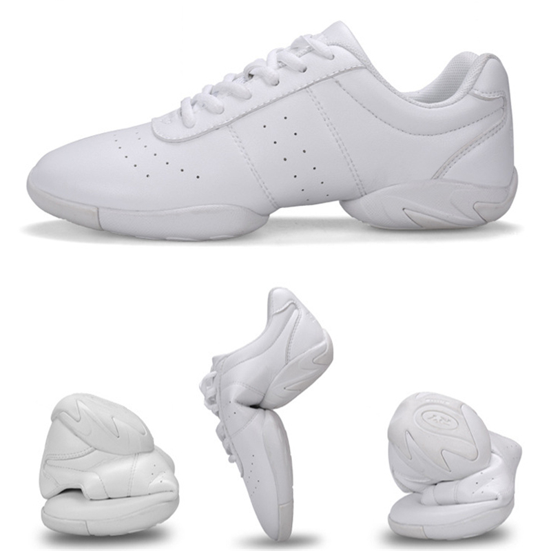 Women Dance Shoes Comfortable Soft Bottom Fitness Shoes Men Jazz Shoes Girl Professional Training Child Breathable Sneakers