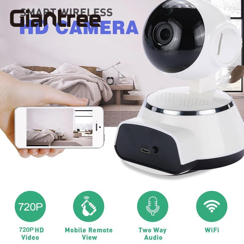 giantree 1.0MP Wireless WIFI Camera IP Camera Baby monitor Hom Security Camera Infrared night vision Audio video Remote Control wireless charger wifi remote control car with fpv camera infrared night vision camera video toy car tanks real time video call