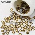 CCBLING ss3-Aurum la bolsa de Uñas de Cristal ss30 Rhinestones la Parte Posterior Plana de Hotfix Glitter Piedras Uñas, Clavo 3d DIY teléfonos Decoraciones Do