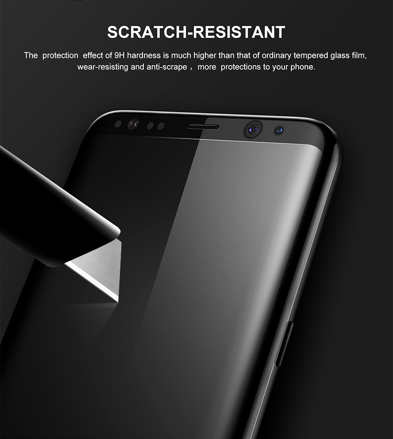 5 Samsung S8 plus Screen Protector