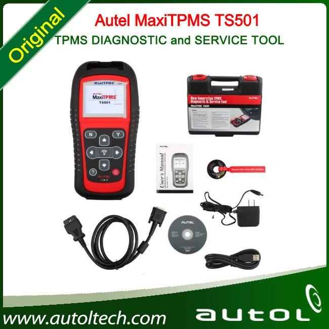 DHL Free Autel font b TPMS b font TS501 DIAGNOSTIC and SERVICE TOOL MaxiTPMS TS501 Best