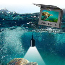 LUCKY FL180AR Portable Fish Finder With 20m Cable 4pcs IR LED 120 Degree Infrared Night Vision Underwater Fishing Finder