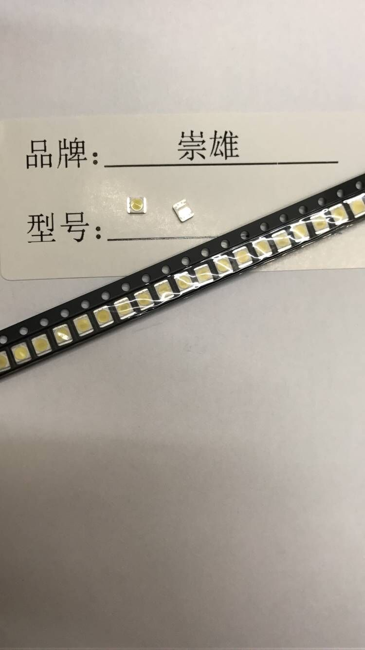 Active Components 1200pcs/lot For Lg Smd Led 3528 2835 1w 3v Cold White For Tv/lcd Backlight