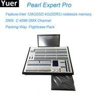 Новый жемчуг Expert Pro регулятор сценического освещения 4096 Канал DMX перемещение головы номинальной сценический эффект DJ диско огни Светодиодн