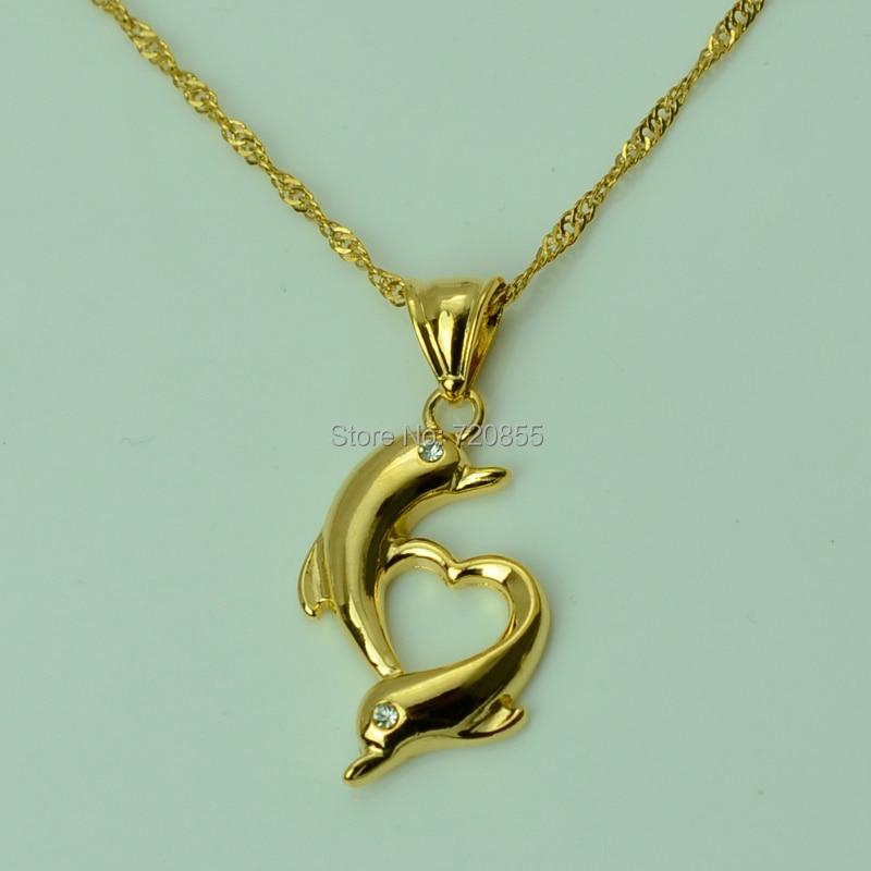 Anniyo heart lovely dolphins necklace pendant chain gold color anniyo heart lovely dolphins necklace pendant chain gold color jewelry animal j670020 in pendant necklaces from jewelry accessories on aliexpress aloadofball Gallery
