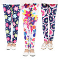 Bebé niños de impresión de flor de niño Leggings pantalones de niñas legging 2-14Ybaby leggings Niña