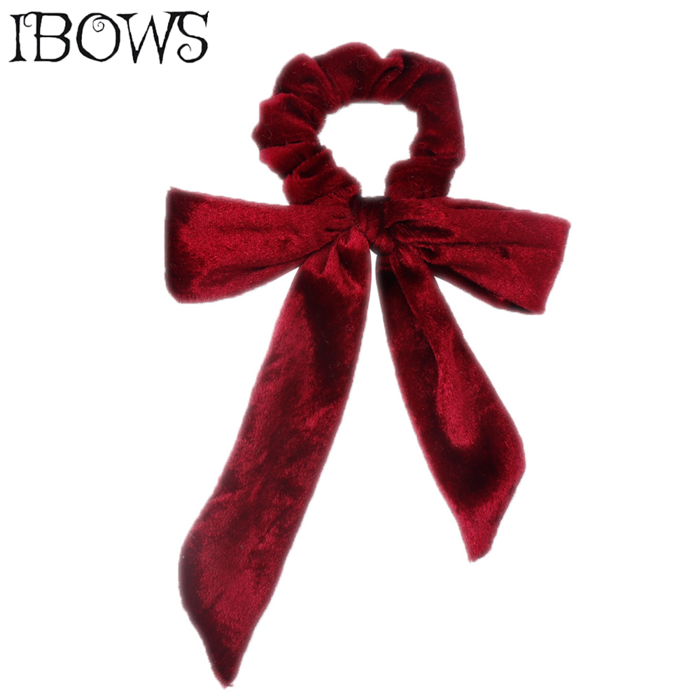 Women Holder Fashion Rope Elastic Bowknot Hair Band Headband Ponytail