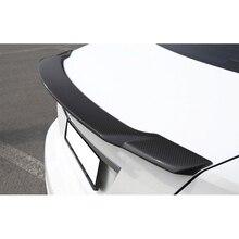 Для BMW 2 серии F22 F87 228i 220i M235 М2 Заднего Крыла Спойлер, магистральные Загрузки Крыла Спойлер Углеродного Волокна