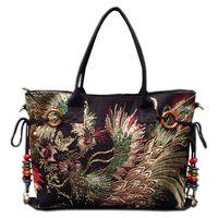 2015 New Canvas Embroidered Women Bag National Characteristics Single Messenger Bag Women S Fashion Leisure Bag