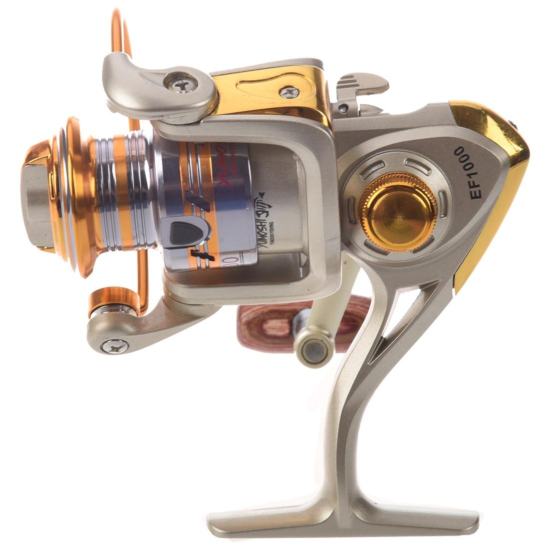 Spool Aluminum Spinning fly fishing reel baitcasting fishing reels saltwater okuma baitrunner metal front drag EF1000 churrasqueira para fogão