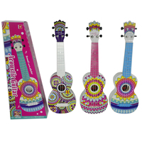 Surwish 21 Inches Children Guitar Type Ukulele Early Educational Musical Instruments Toys