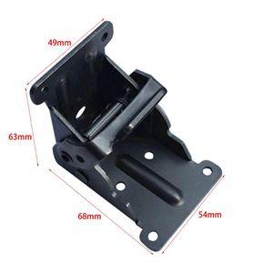 Image 5 - 잠금 확장 테이블 침대 다리 다리 강철 접이식 접이식 지원 브래킷 나사 홈 하드웨어