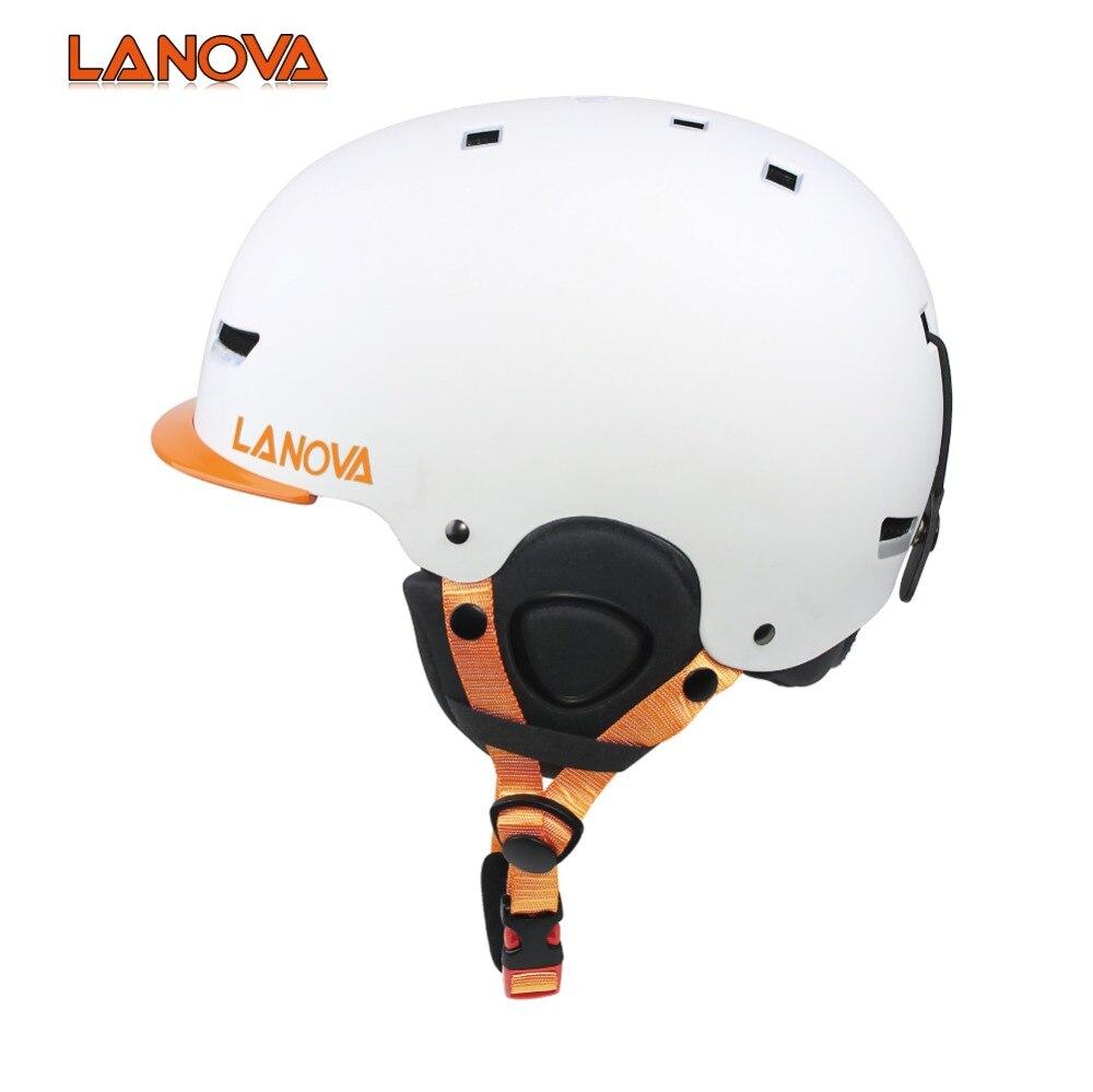 LANOVA casque de ski hommes et femmes enfants taille snowboard casque de sécurité CE normes