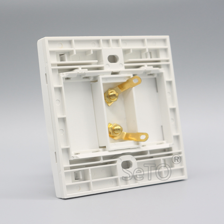 86 Type 1 Speaker 2 Binding Surround Home Speaker Wall Plate Keystone Faceplate
