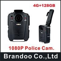 Ambarella A12 HD 1080P Multi Functional Portable Body Camera IR Night Vision Built In 128GB Storage