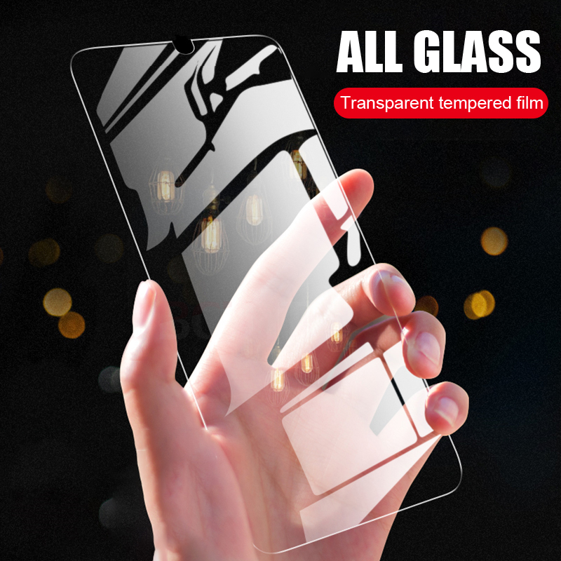 Image 5 - 3Pcs Tempered Glass For Huawei P smart Screen Protector Shield For Huawei P smart 2017 5.65inches Protective Glass Film 9HPhone Screen Protectors   -