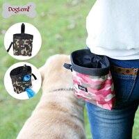 Doglemi Camuflage 디자인 애완 동물 개 치료 토트 야외 개 치료 파우치 개 훈련