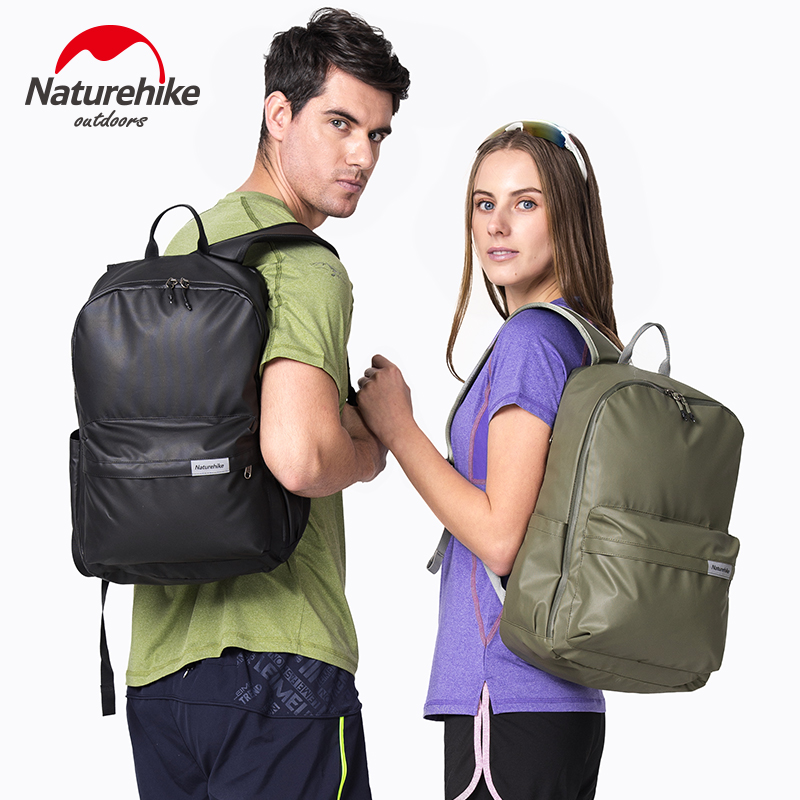23L kültéri multifunkciós vízálló hátizsákok férfi bevonatú sporttáska Unisex szabadidős táskák utazási kempingiskolába