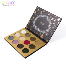 Docolor 12 Warna Menawan Eyeshadow Palet Make Up Palet Matte Shimmer Pigmen Eye Shadow Bedak Kosmetik Kecantikan(China)