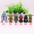 Real Capacity Star Wars R2D2 Robot PenDrive 8GB 16GB 32GB 64GB Master Yoda Pen driver Flash Disk Darth Vader USB 2.0 Flash Drive
