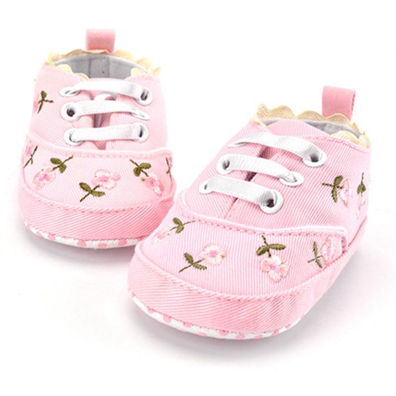 2019 Fashion New Autumn Winter Baby Shoes Girls Boy First Walkers Newborn Shoes 0-18M Shoes First Walkers
