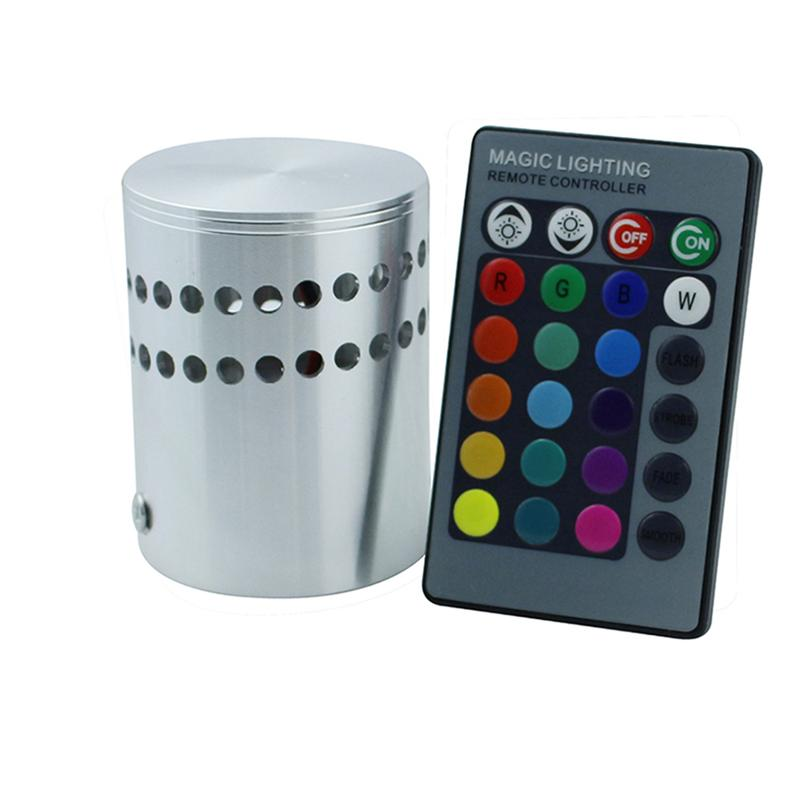 Remote Cotrolled RGB 7 Color Changes LED Party Light for KTV Xmas Party Wedding Show Clu ...