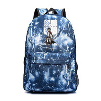 803d68a745a New Attack On Titan Backpacks Japan Anime Sac A Dos Printing Male Female  Travel Backpack School