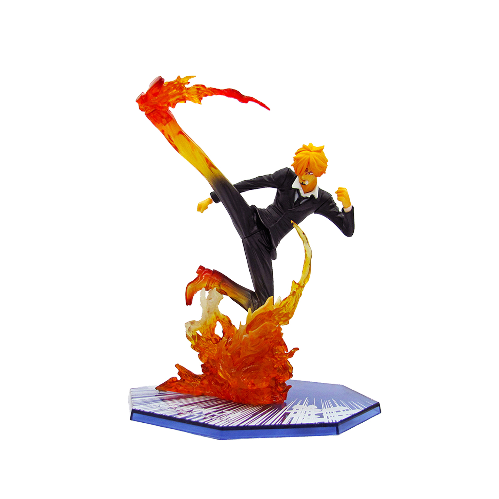 все цены на Chanycore Anime ONE PIECE Cartoon Two Years Later New World sanji 16cm Action Figures PVC onepiece toys doll model collection